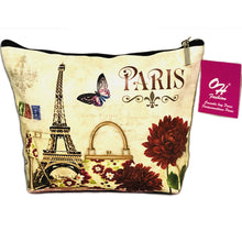 Load image into Gallery viewer, OH Fashion Cosmetic Bag Paris