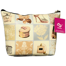 Load image into Gallery viewer, OH Fashion Cosmetic Bag Royal Dress