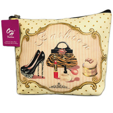 Load image into Gallery viewer, OH Fashion Cosmetic Bag Vintage Queen