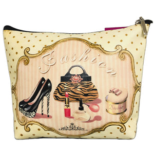 OH Fashion Cosmetic Bag Vintage Queen
