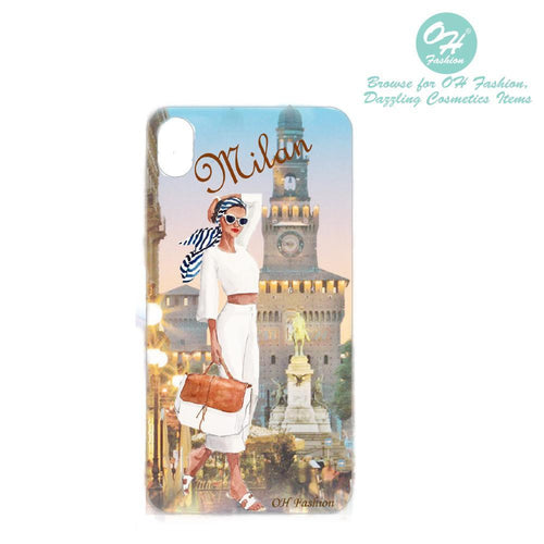 OH Fashion iPhone case X / XS Elegant Milan - superfashionwholesaler