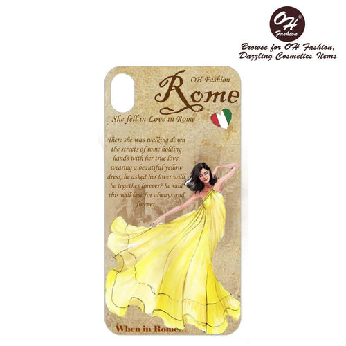 OH Fashion iPhone case X / XS Fascinated in Rome - superfashionwholesaler