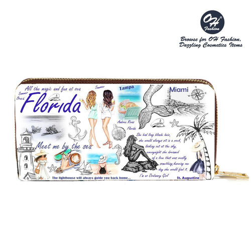 OH Fashion Wallet Florida Vibes - superfashionwholesaler
