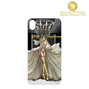 OH Fashion iPhone case X / XS Golden Beauty - superfashionwholesaler