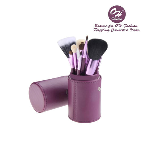 OH Fashion Makeup Brushes Galaxy Purple - superfashionwholesaler