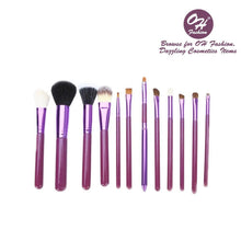 Load image into Gallery viewer, OH Fashion Makeup Brushes Galaxy Purple - superfashionwholesaler