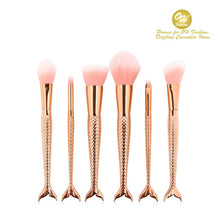 Load image into Gallery viewer, OH Fashion Makeup Brushes Mermaid Andrina - superfashionwholesaler