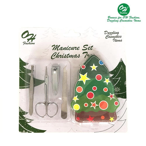 OH Fashion Manicure Set Christmas Tree - superfashionwholesaler