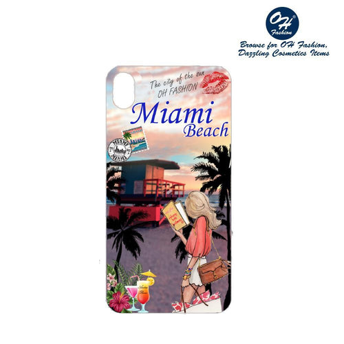 OH Fashion iPhone case X / XS Miami Beach - superfashionwholesaler