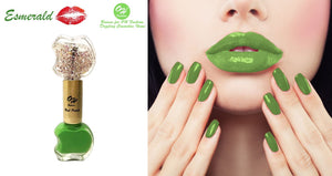 OH Fashion Nail Polish Double Apple Individual ESMERALD - superfashionwholesaler