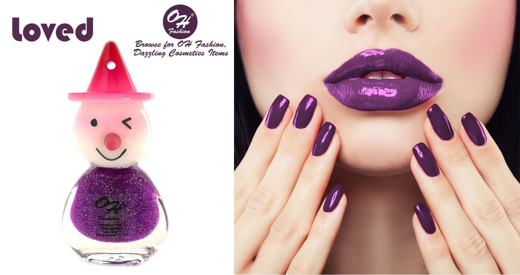 OH Fashion Nail Polish Clown Style Individual LOVED - superfashionwholesaler