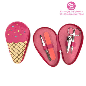 OH Fashion Manicure set Ice Cream Strawberry