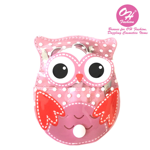 OH Fashion Manicure set Owl Pink