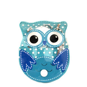 OH Fashion Manicure set Owl Blue