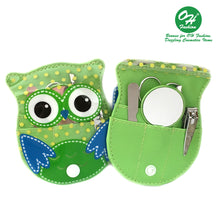 Load image into Gallery viewer, OH Fashion Manicure set Owl Green