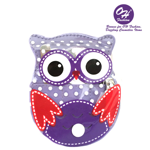 OH Fashion Manicure set Owl Purple