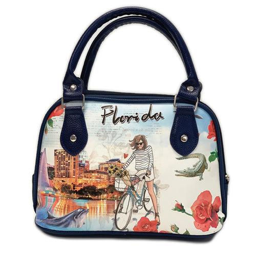 OH Fashion Handbag Shoulder Bag Explore Florida