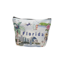 Load image into Gallery viewer, OH Fashion Cosmetic Bag Summer Florida