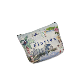 OH Fashion Cosmetic Bag Summer Florida