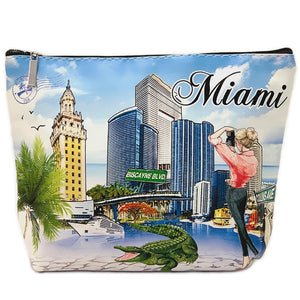 OH Fashion Cosmetic Bag Capturing Miami
