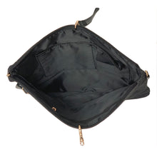 Load image into Gallery viewer, OH Handbag Reigning Denim Light Black