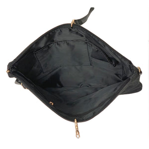 OH Handbag Reigning Denim Light Black