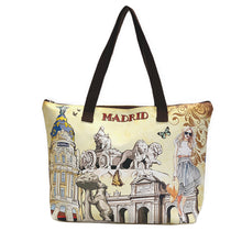 Load image into Gallery viewer, OH Fashion Handbag Tote Chic Madrid
