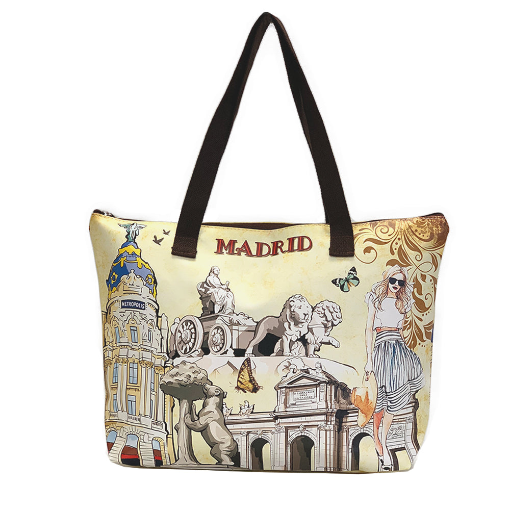 OH Fashion Handbag Tote Chic Madrid