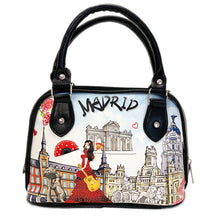 Load image into Gallery viewer, OH Fashion Handbag Shoulder Bag Discovering Madrid