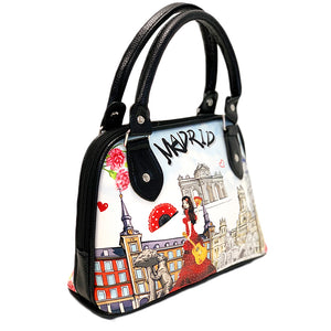 OH Fashion Handbag Shoulder Bag Discovering Madrid