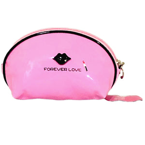 OH Fashion Cosmetic Bag Lipstick Love Cutie in Pink (Small)
