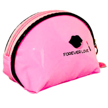 Load image into Gallery viewer, OH Fashion Cosmetic Bag Lipstick Love Cutie in Pink (Small)