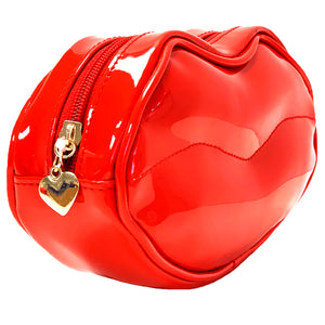 OH Fashion Cosmetic Bag Glamorous Smooch Really Red