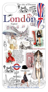 OH Fashion iPhone case PLUS 8/7/6S Adventurous London - superfashionwholesaler