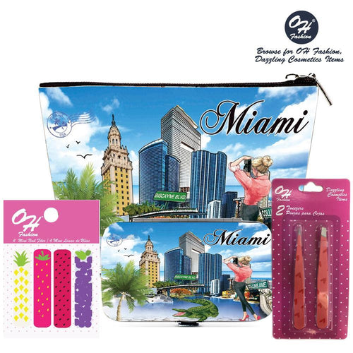 OH Fashion Beauty Set Capturing Miami - superfashionwholesaler