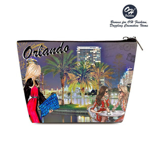 OH Fashion Cosmetic Bag Glorious Orlando - superfashionwholesaler