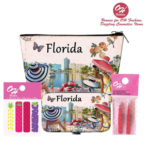 OH Fashion Beauty Set Luxurious Florida - superfashionwholesaler
