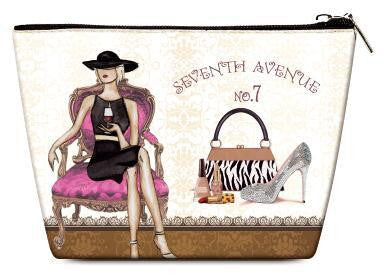 OH Fashion Cosmetic Bag Parisian Belle - superfashionwholesaler