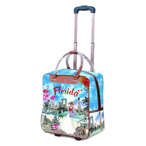 OH Fashion Luggage Carry On Florida Vibes - superfashionwholesaler