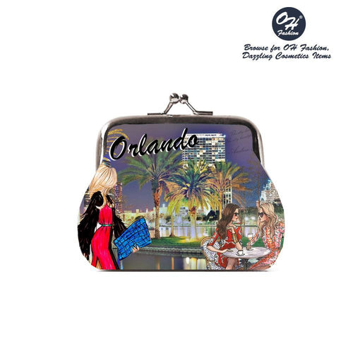 OH Fashion Coin Purse Glorious Orlando - superfashionwholesaler