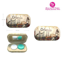 Load image into Gallery viewer, OH Fashion Contact Lens Case Amazing Orlando - superfashionwholesaler