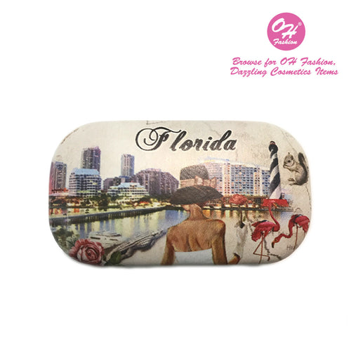OH Fashion Contact Lens Case Luxurious Florida - superfashionwholesaler