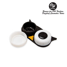 Load image into Gallery viewer, OH Fashion Contact Lens Case Owl Black - superfashionwholesaler