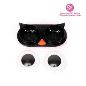 OH Fashion Contact Lens Case Owl Black - superfashionwholesaler