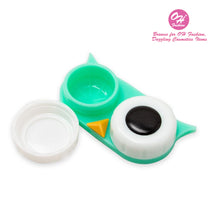 Load image into Gallery viewer, OH Fashion Contact Lens Case Owl Green - superfashionwholesaler
