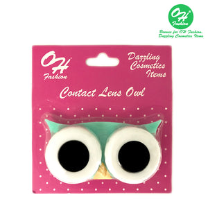 OH Fashion Contact Lens Case Owl Green - superfashionwholesaler