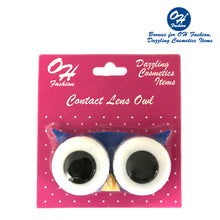 Load image into Gallery viewer, OH Fashion Contact Lens Case Owl Navy Blue - superfashionwholesaler