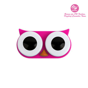 OH Fashion Contact Lens Case Owl Pink - superfashionwholesaler