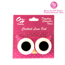 Load image into Gallery viewer, OH Fashion Contact Lens Case Owl Pink - superfashionwholesaler
