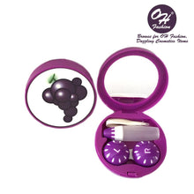 Load image into Gallery viewer, OH Fashion Contact Lens Case Fruits Grapes - superfashionwholesaler